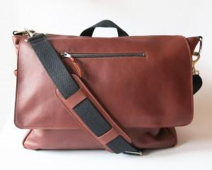custom leather bag