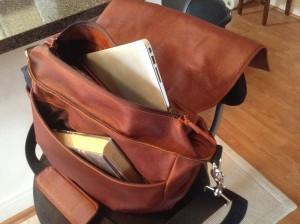 bag in use