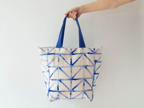 DIY Sewing Academy - tote no. 3 handbemalt