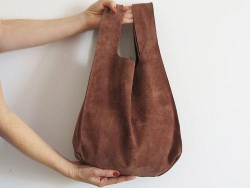 Leder Shopping Bag