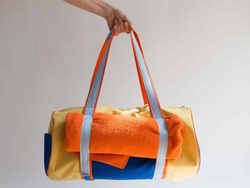 Yoga Beach Bag Tutorial