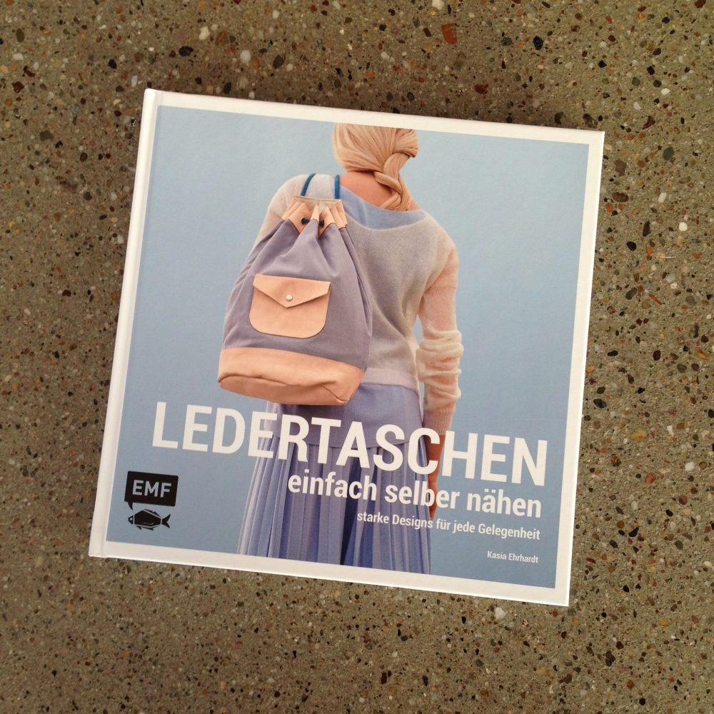 Ledertaschen selber nähen von Kasia Ehrhardt - Buchcover