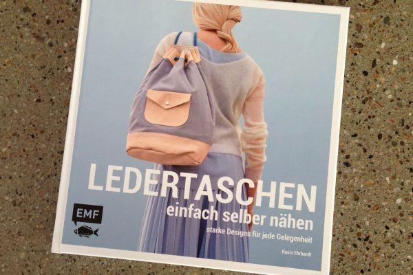 """Mein Buch """"Ledertaschen Einfach Selber Nähen"""" ist erschienen!"""